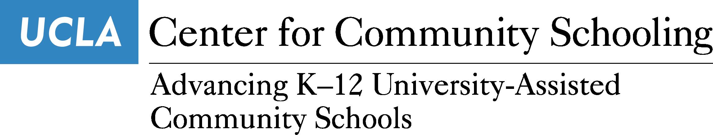UCLA Community Schooling logo