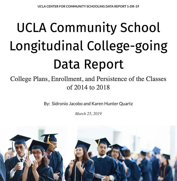 UCLA Community School Longitudinal College-going Data Report